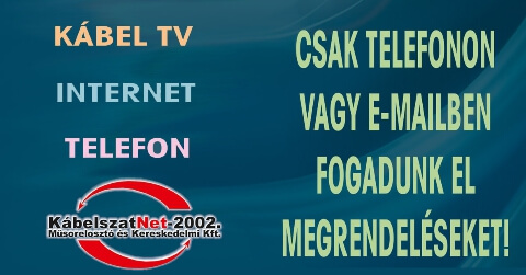 Kábel TV, Telefon, Internet